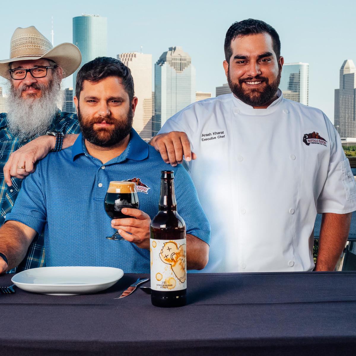 Buffalo Bayou Brewing Company Troy Witherspoon Rassul Zarinfar Arash Kharat
