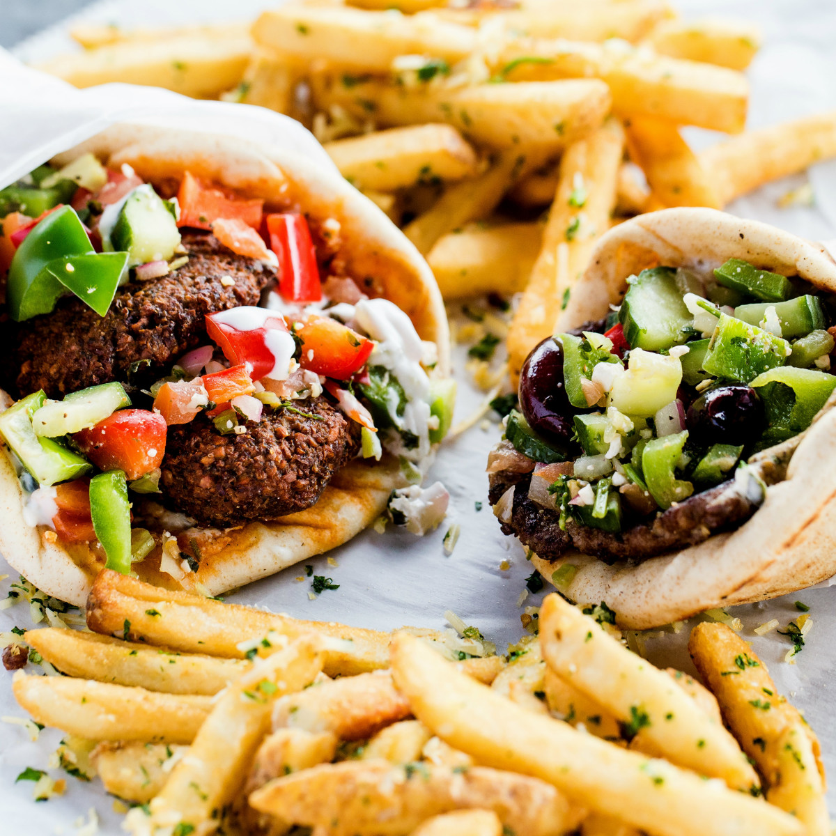 Antone's Famous Po' Boys Mediterranean menu