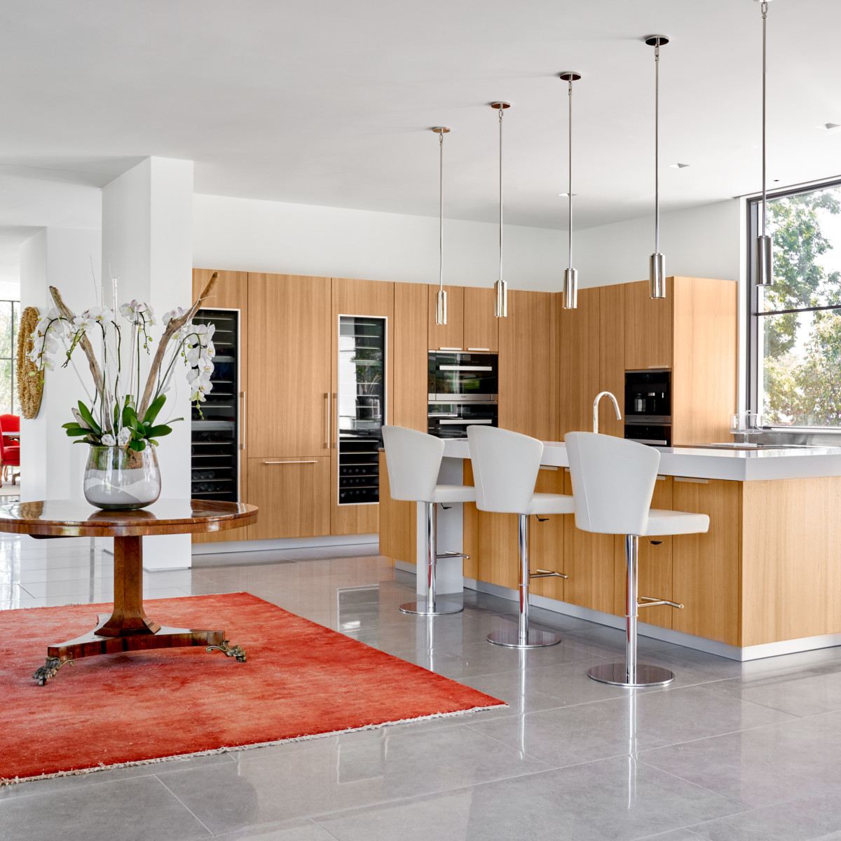 Bridge Hollow Residence kitchen