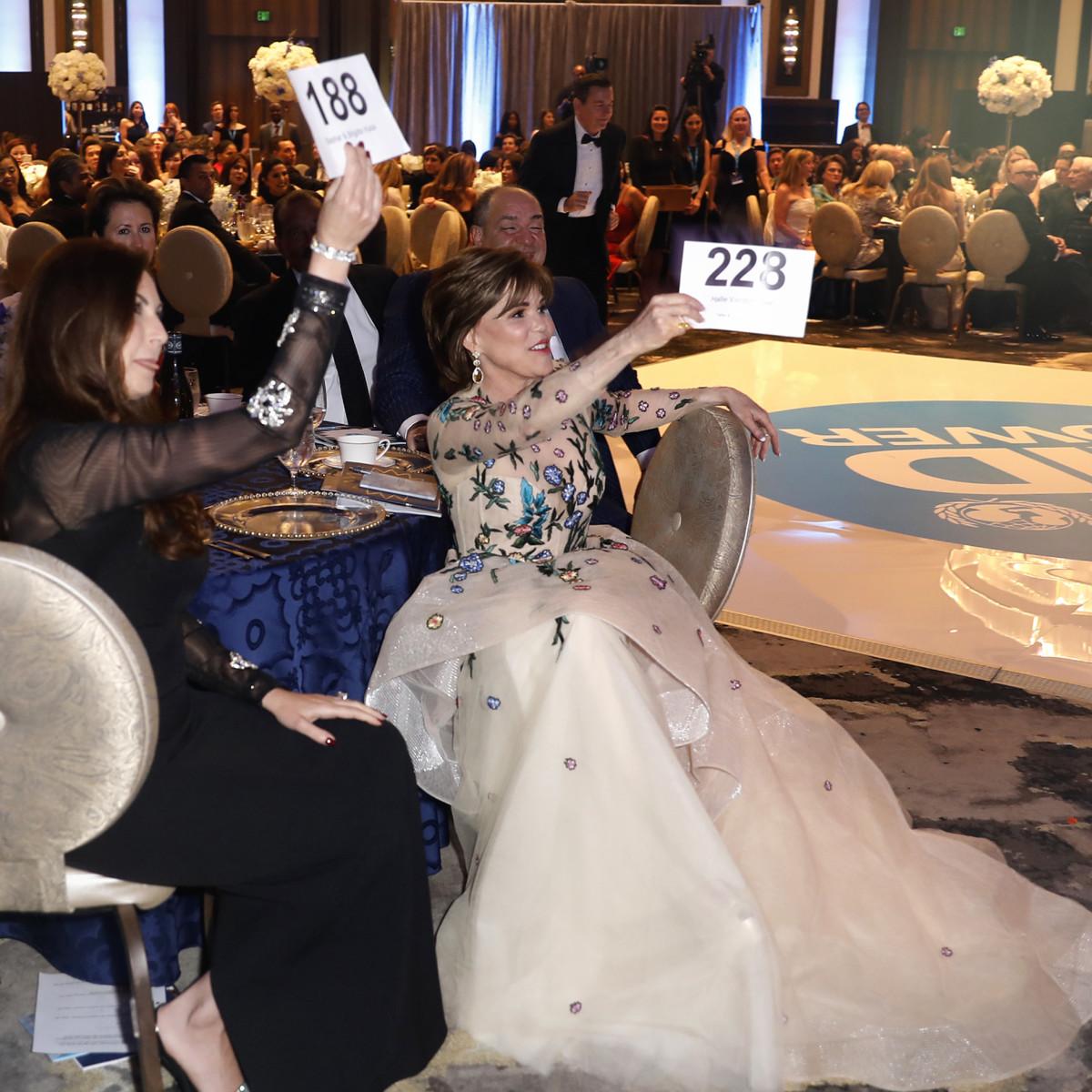 UNICEF Gala Houston 2019 Hallie Vanderhider