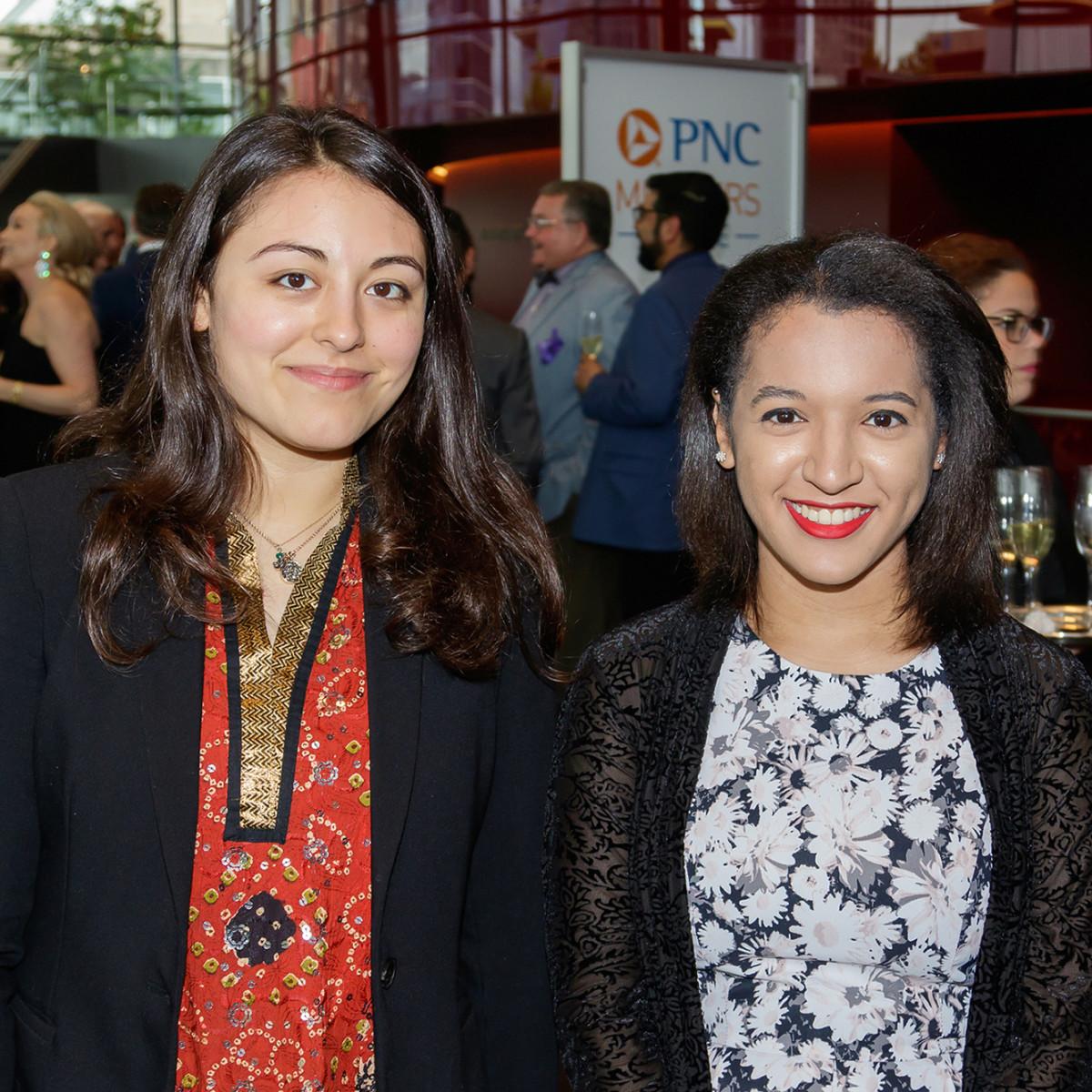 Asia Jackson and Rachel Calderon