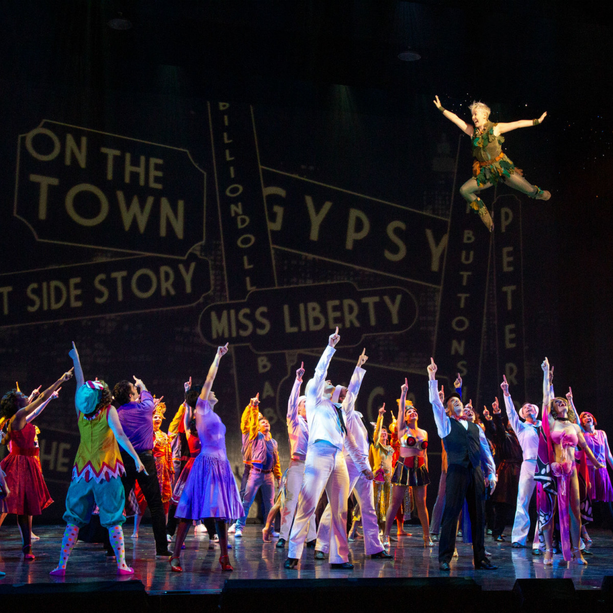 Theatre Under the Stars presents Jerome Robbins' Broadway