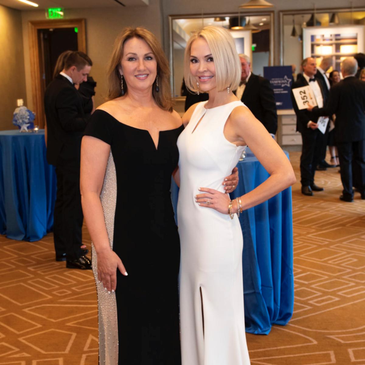 Karen Harris and Whitney Kutch