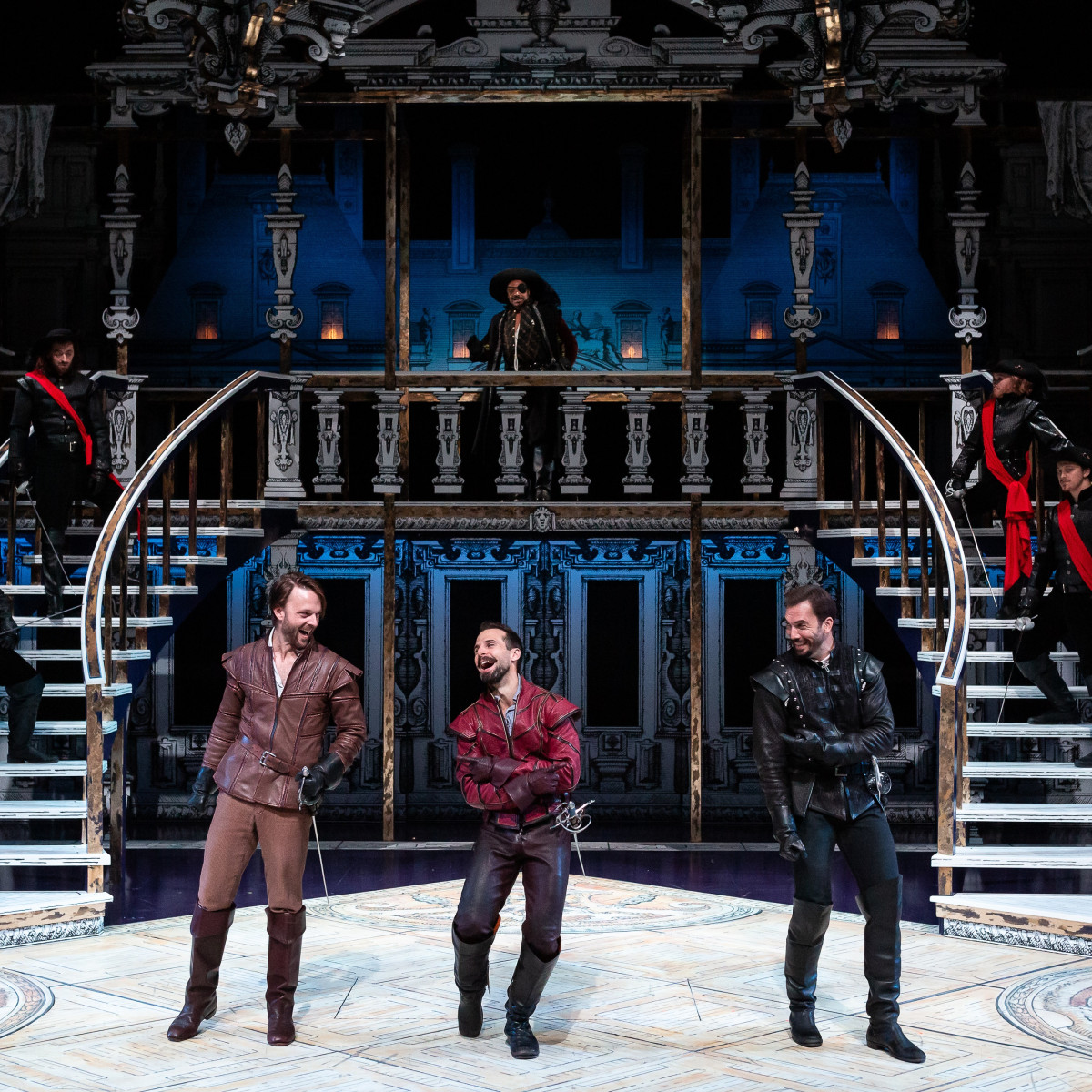 Alley Theatre: Three Musketeers cast