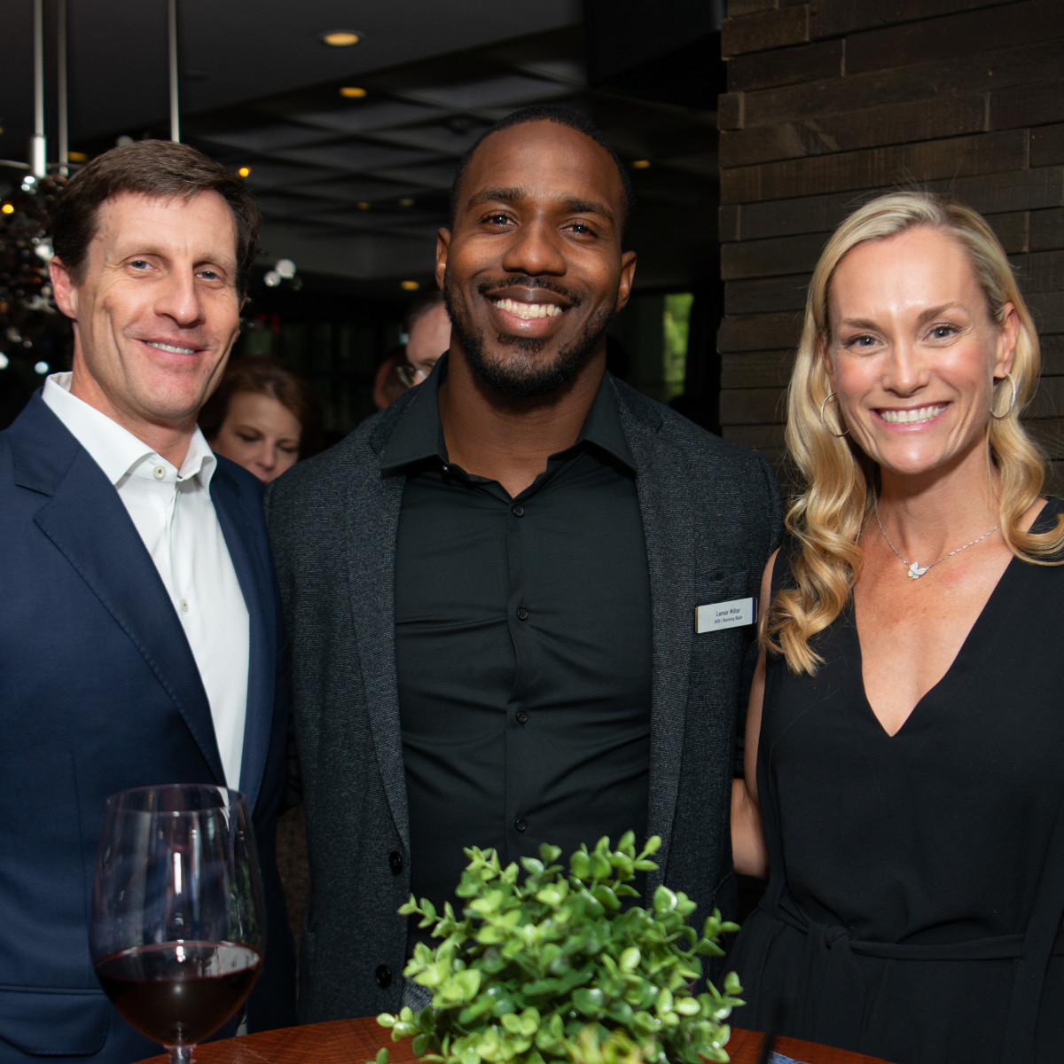 Houston Texans Champions for Youth Dinner Lamar Miller guests