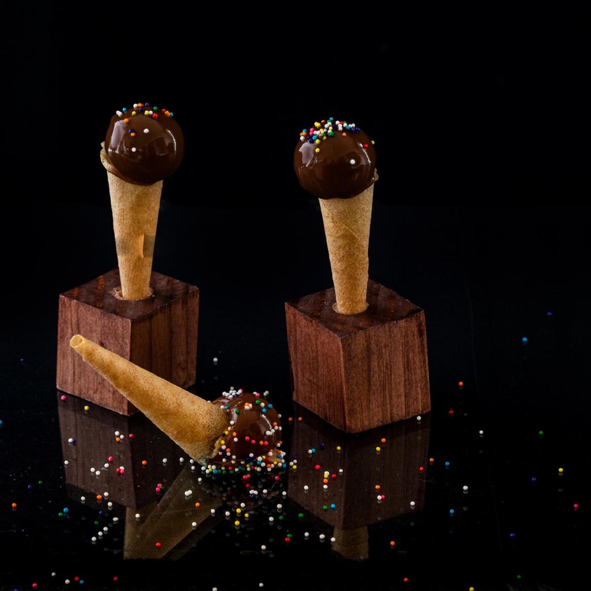 Foie gras cornetto
