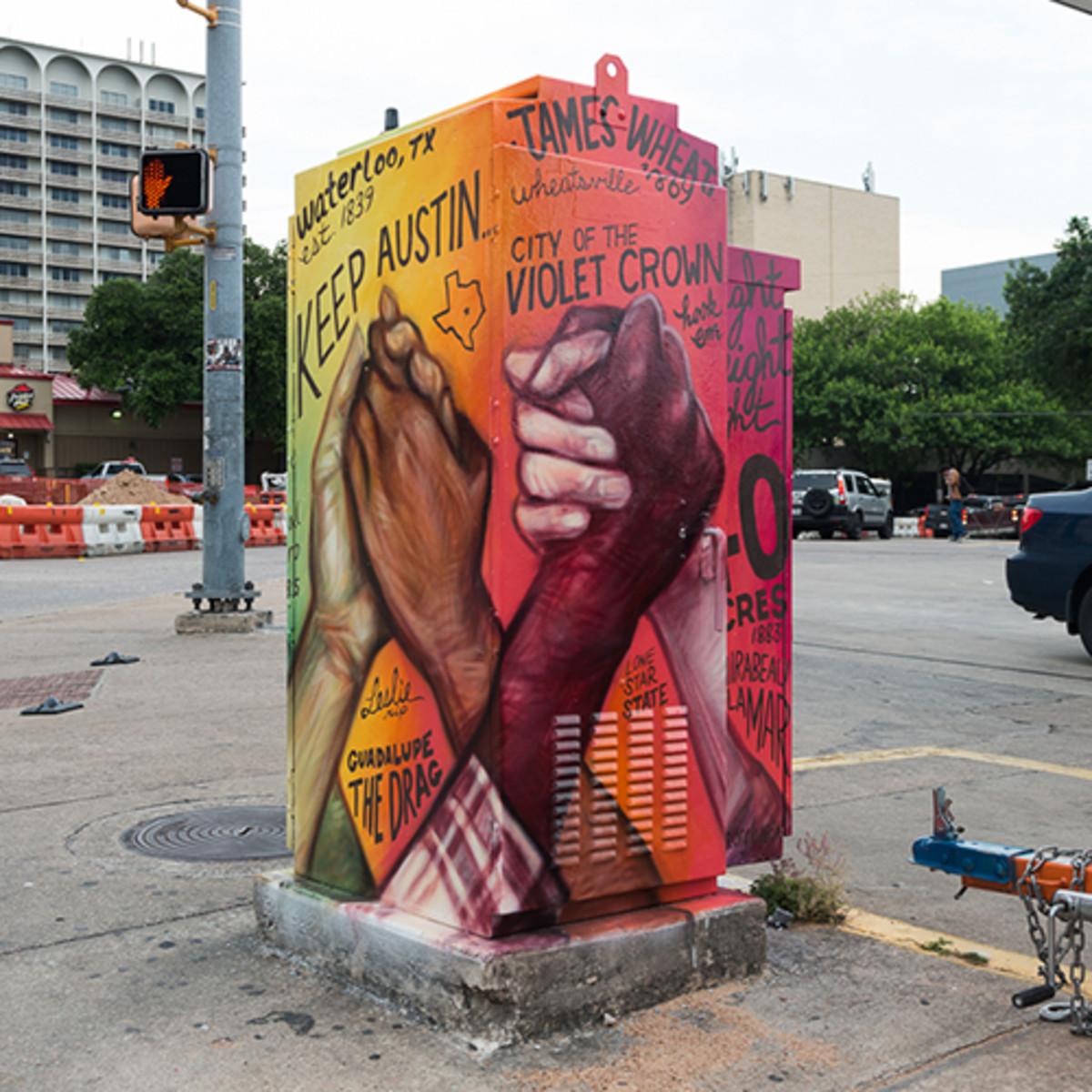 Mini mural mlk boulevard guadalupe emily dingly