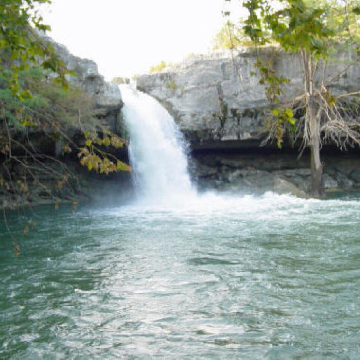 Edge Falls in Kendall County