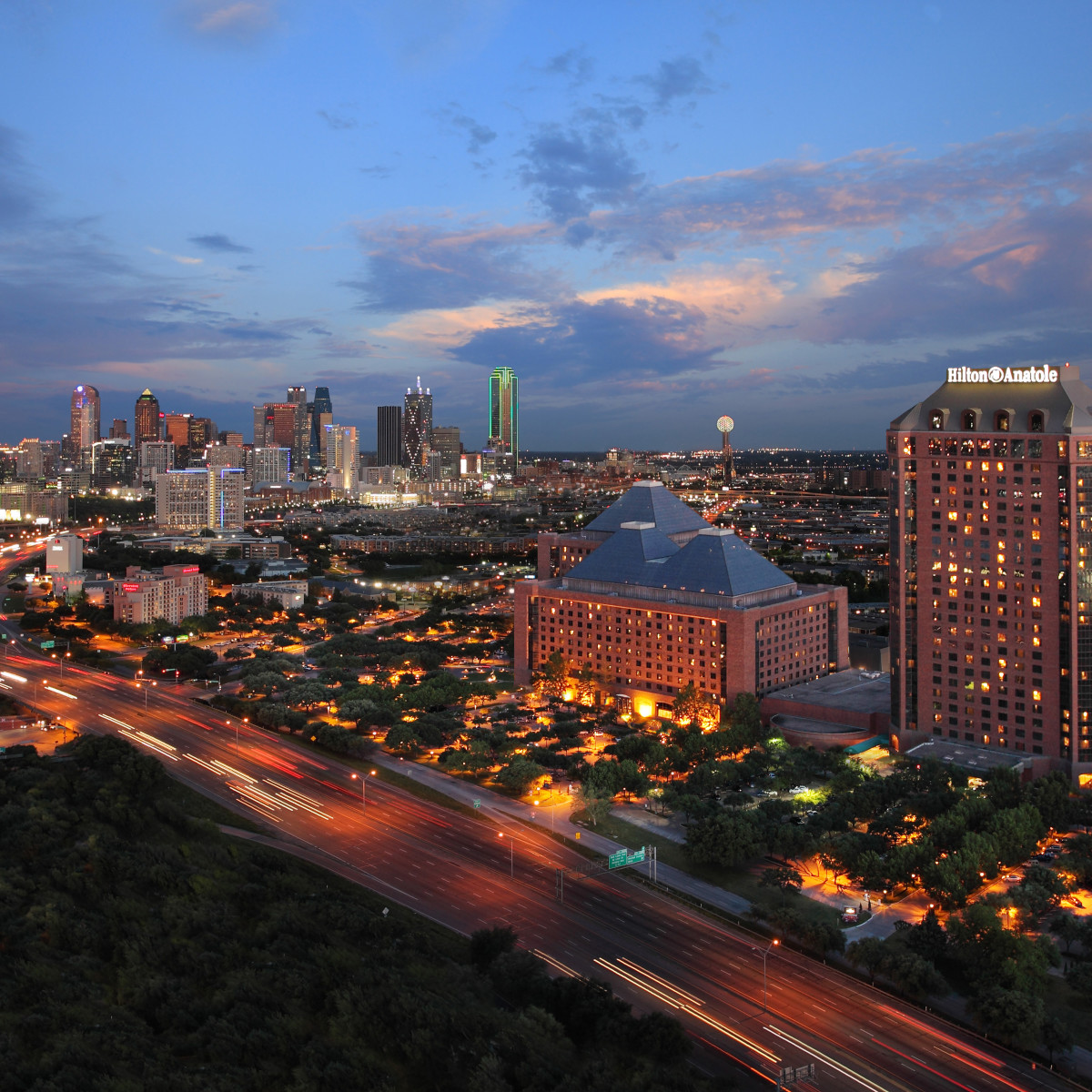 Hiltona Anatole Dallas hotel exterior