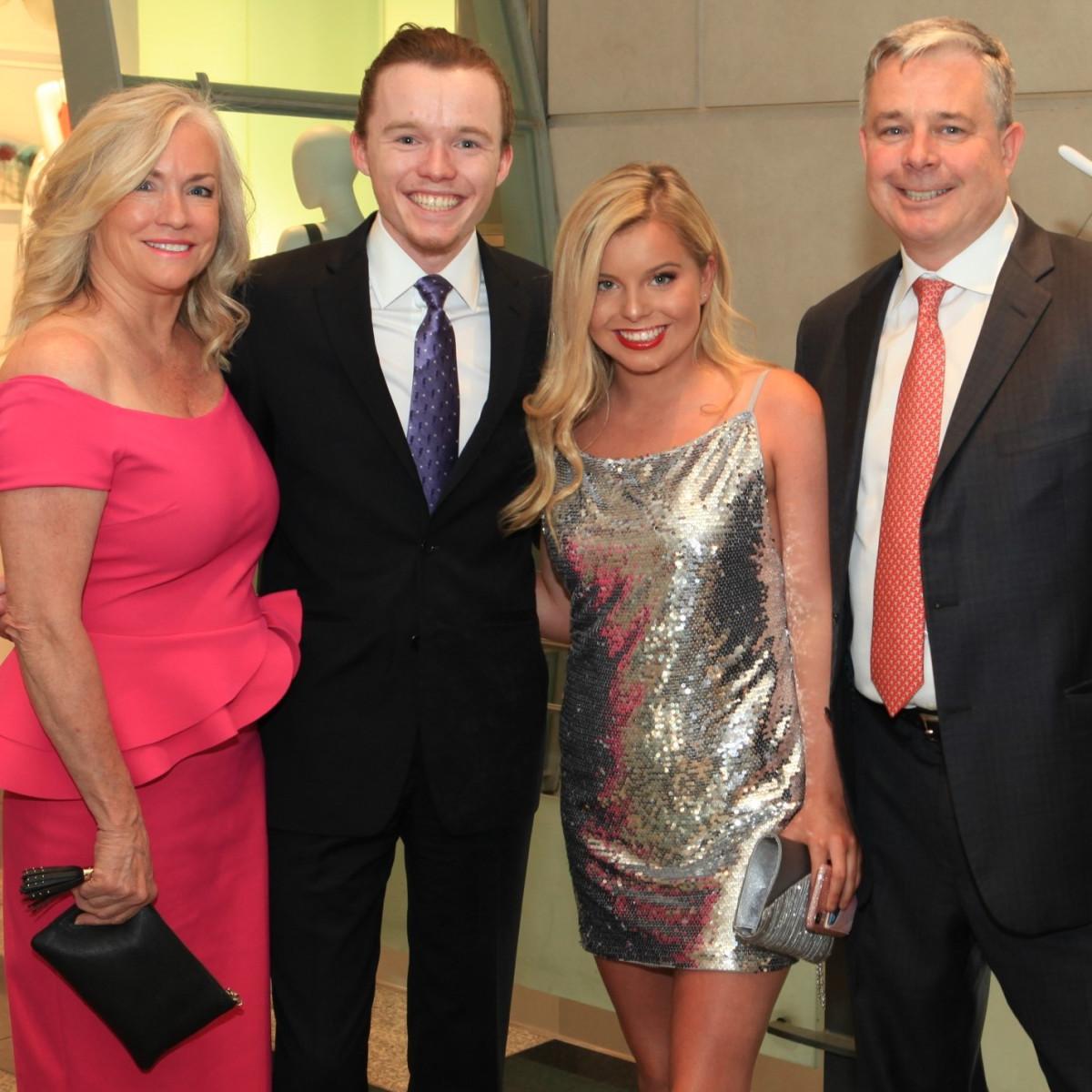 Karen, Matthew, Isabella, Kevin Cox