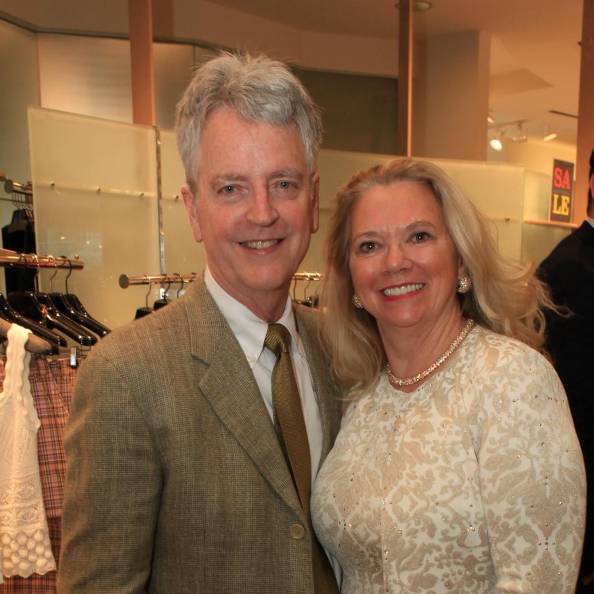 John Gilmore and Linda Burk