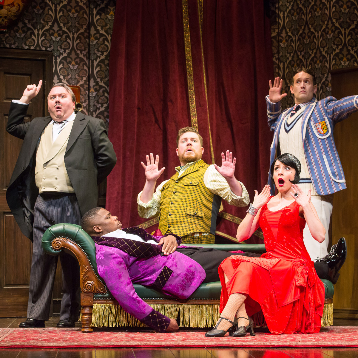The Play That Goes Wrong national tour