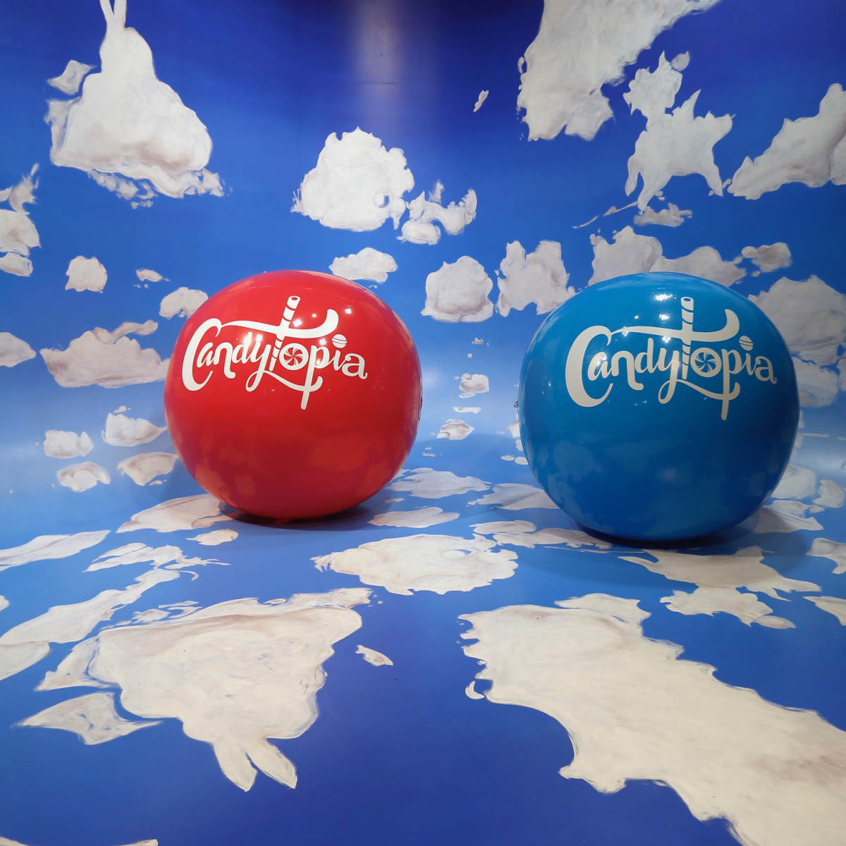 Candytopia Houston bouncy balls