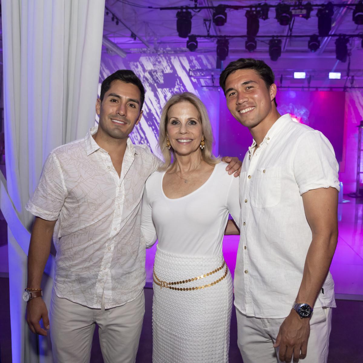 Alex Flores, Anne Reeder, Tyler Leung