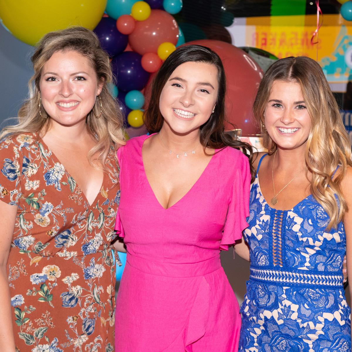 Meredith Murray, Leah Hammett, Amanda Petit