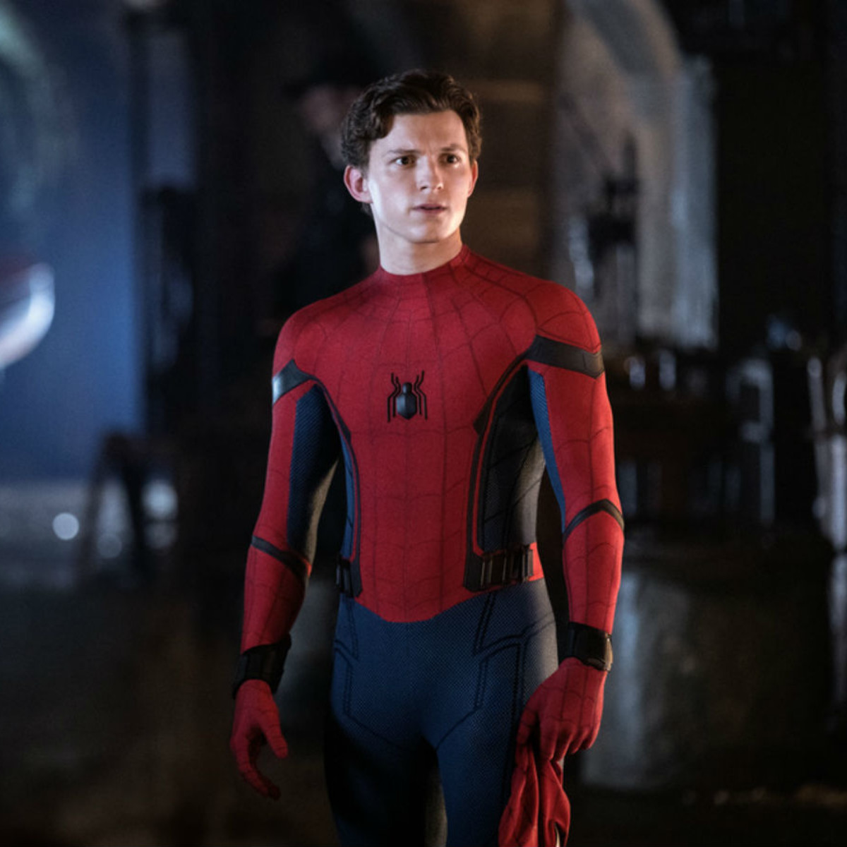 Tom Holland in Spider-Man: Far from Home