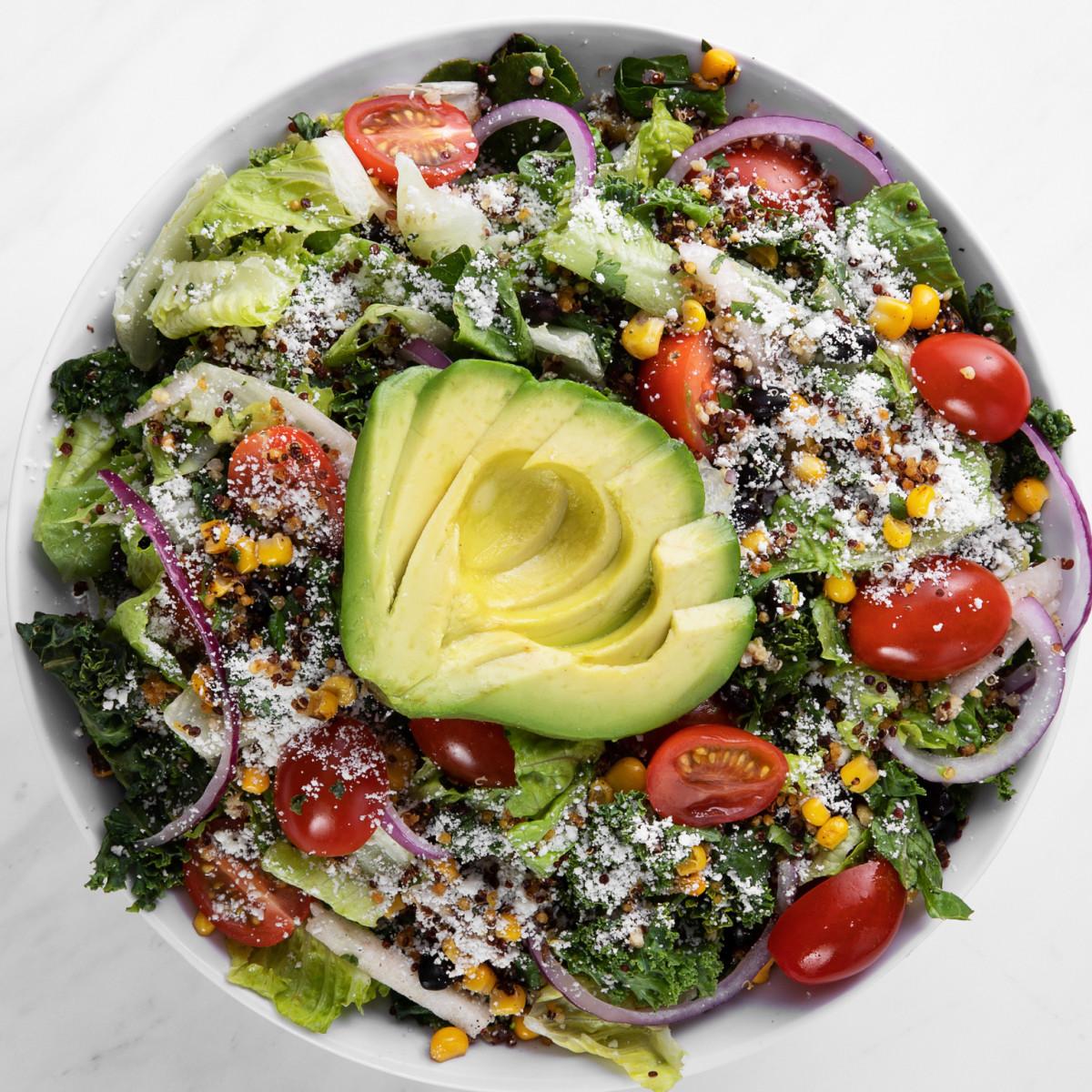 Mendocino Farms avocado and quinoa superfood ensalada