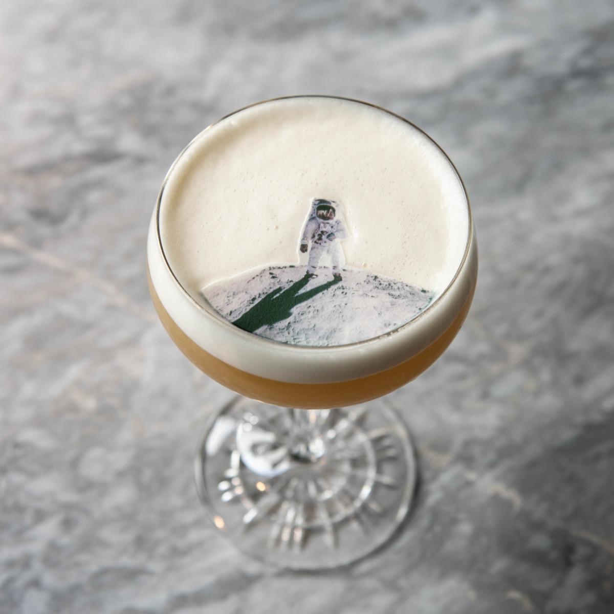 Space City Sour cocktail
