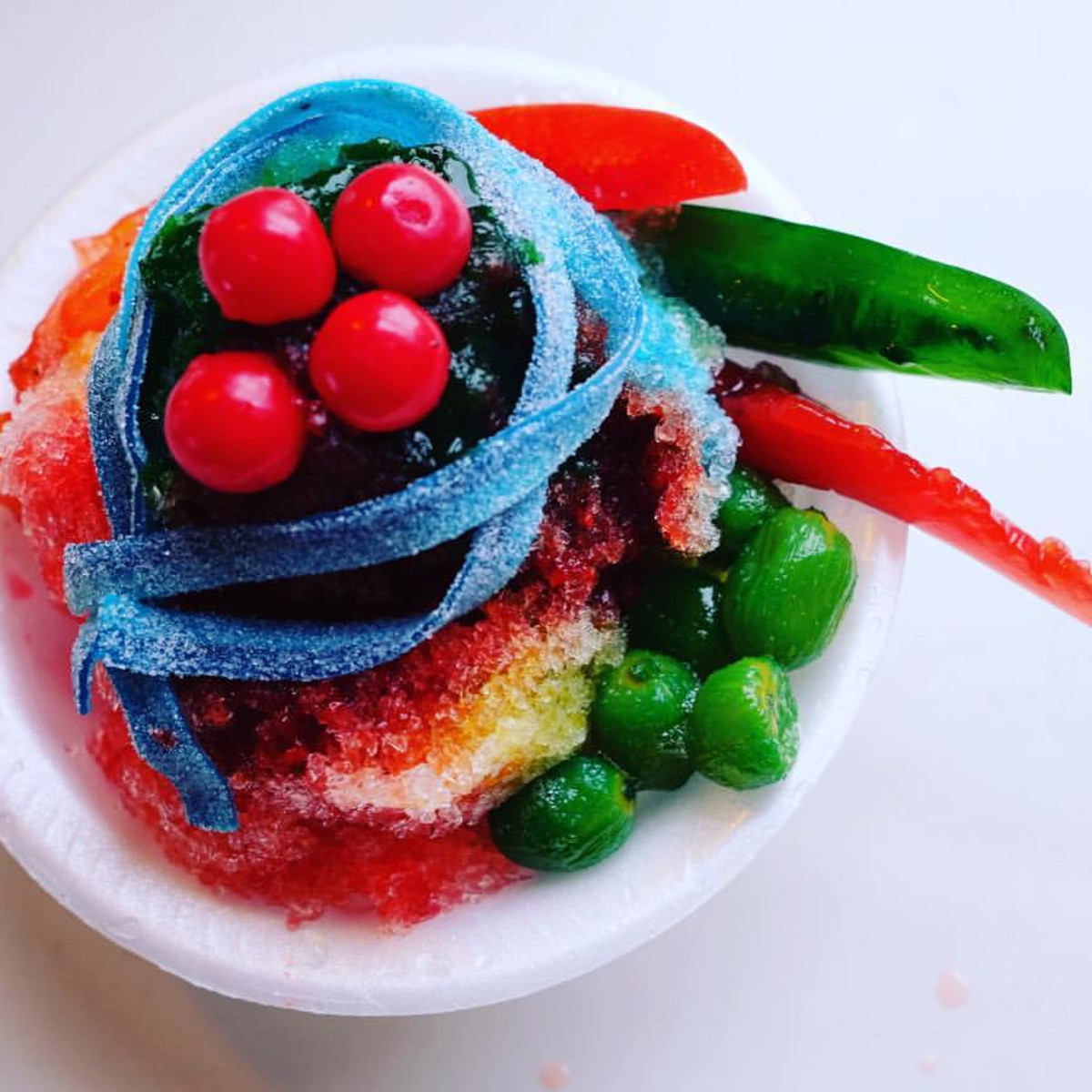 Chamoy City Limits frozen dessert