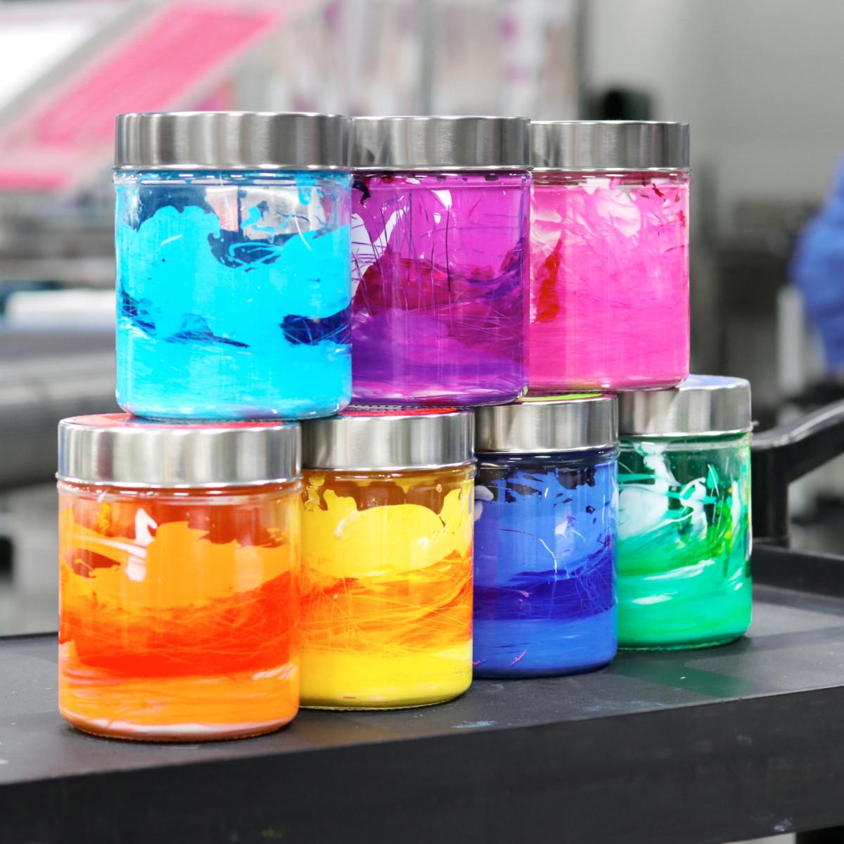 Waterbased ink
