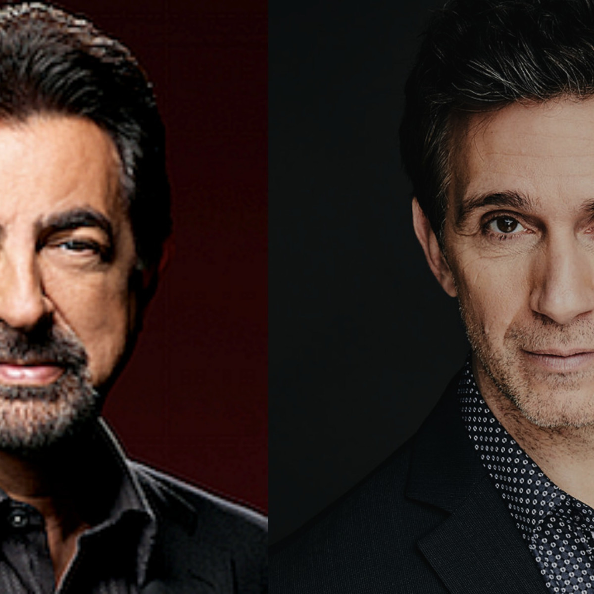 Joe Mantegna and Ronnie Marmo