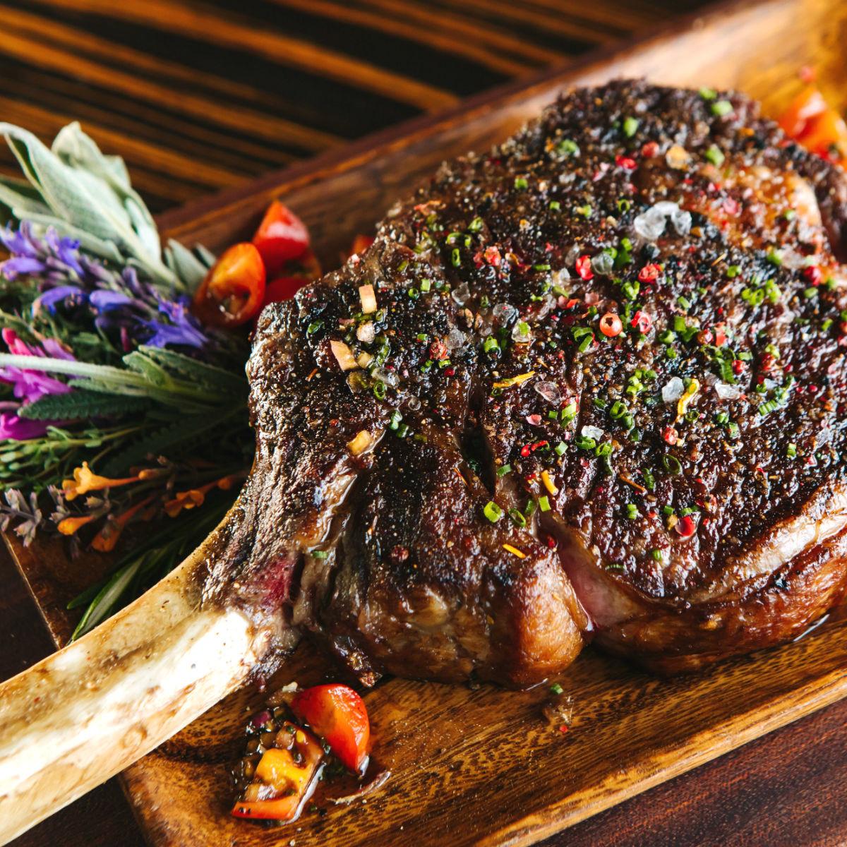 Dallas Chop House steak