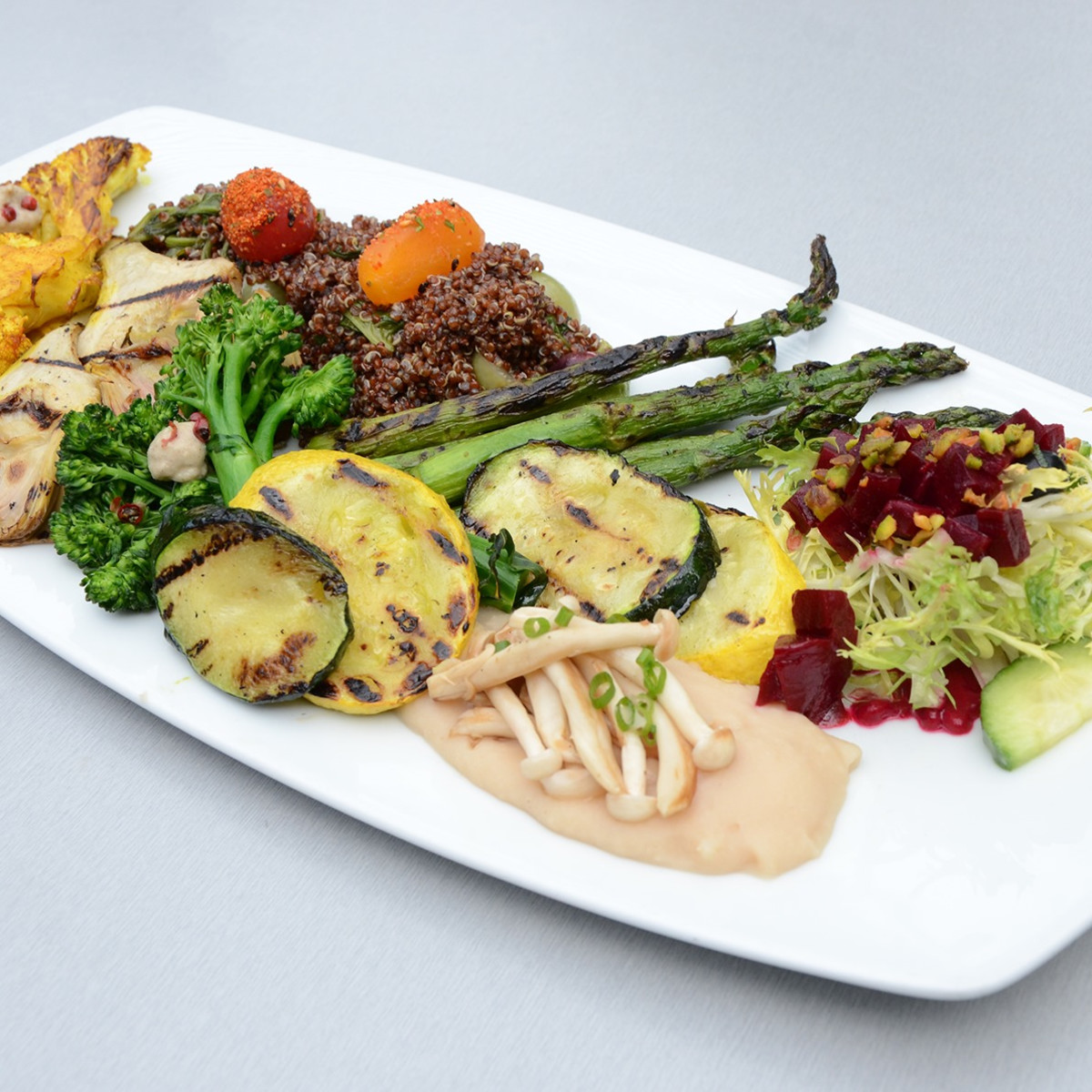 Bliss San Antonio vegan platter