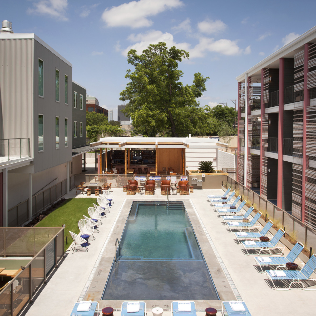 East Austin Hotel pool