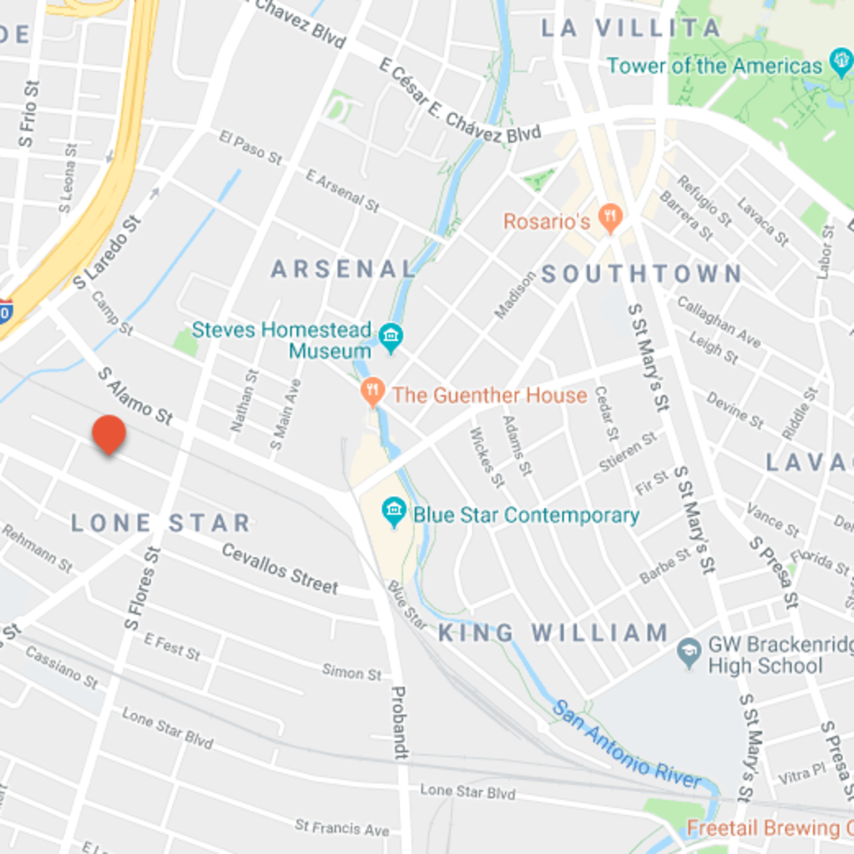 SA_Gallery Lofts map