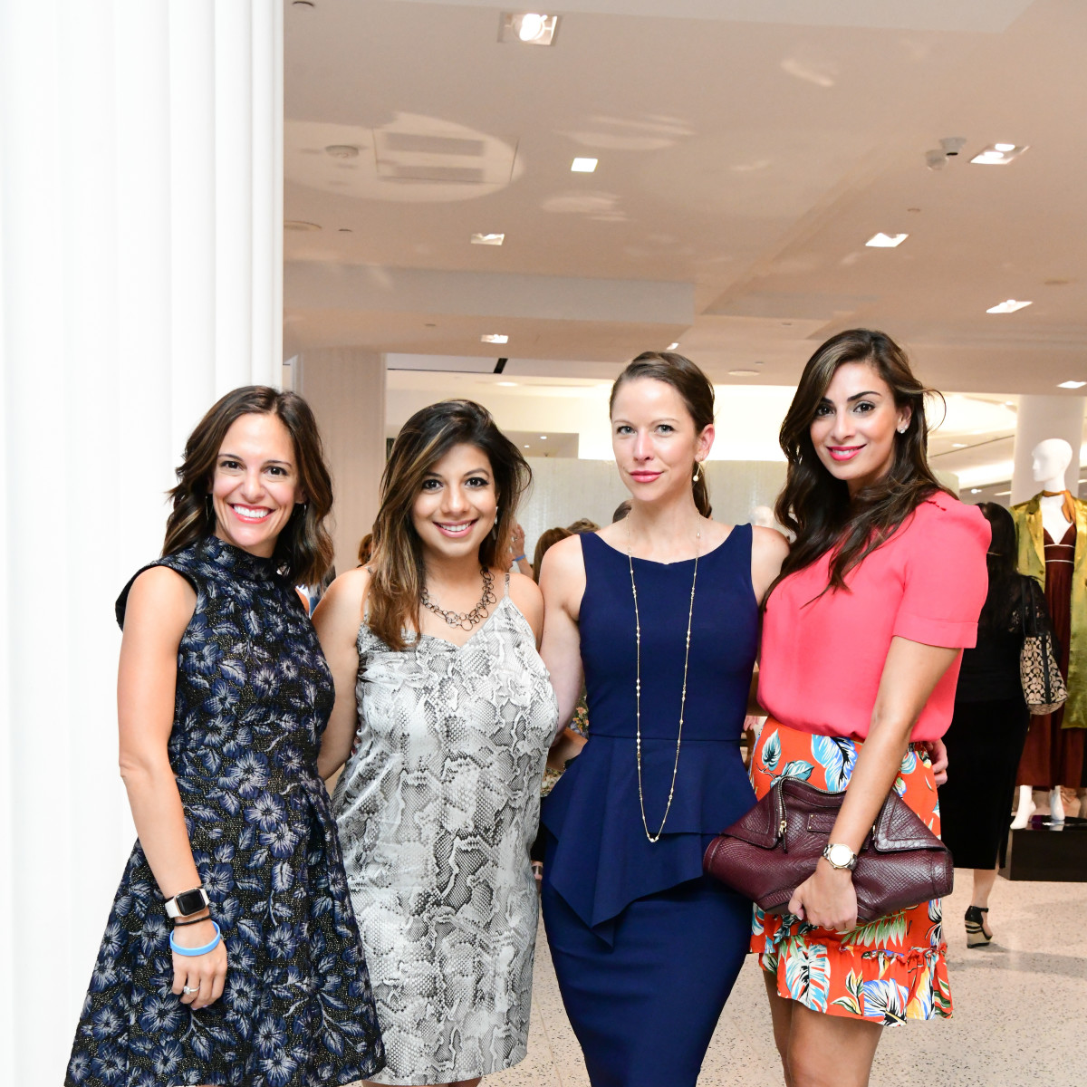 Summer Soiree Dress for Success WOW Tootsies Allie Danziger, Karishma Asrani, Sarah Smith, Sukaina Rajani (owner Macaron by Patisse)