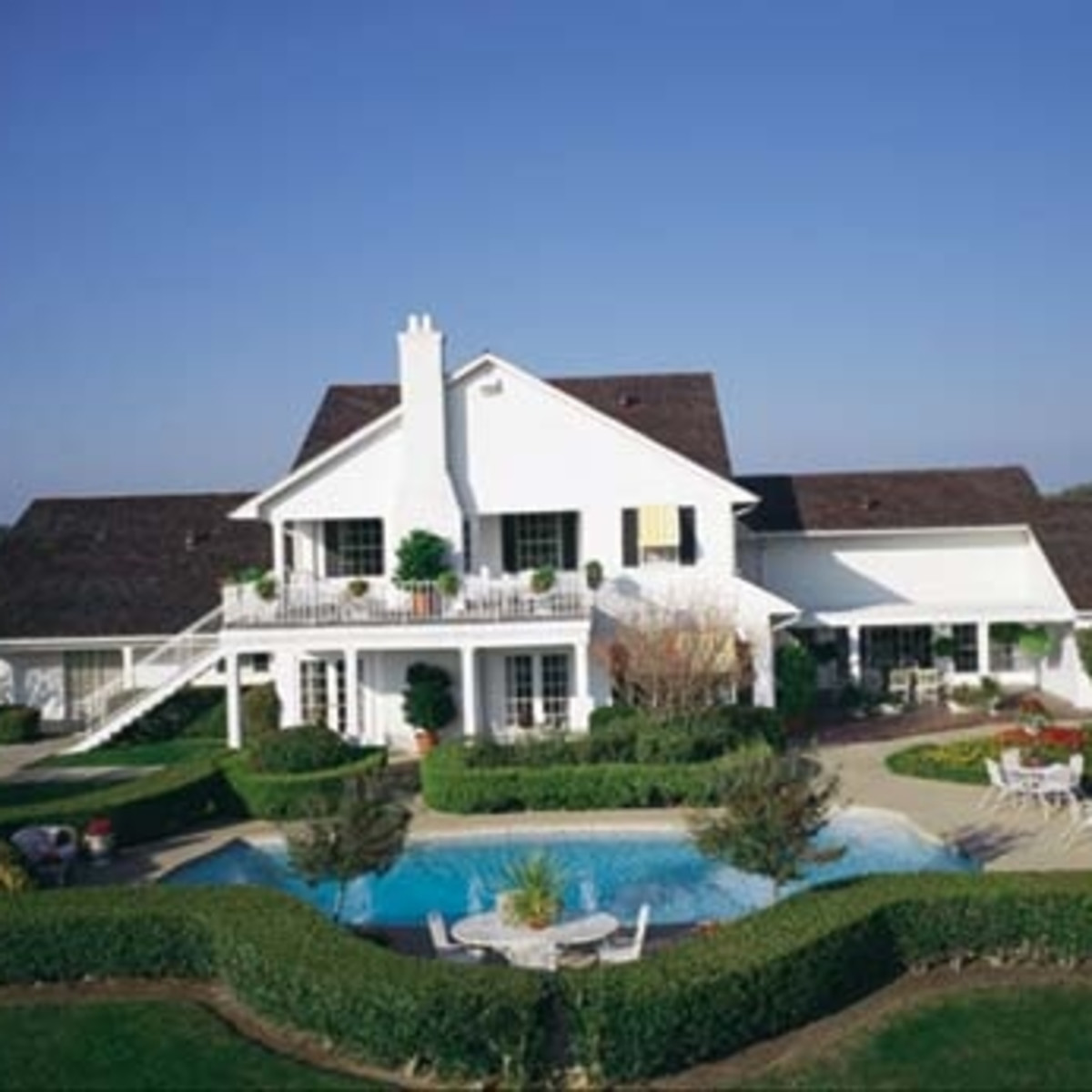 Southfork Ranch pool