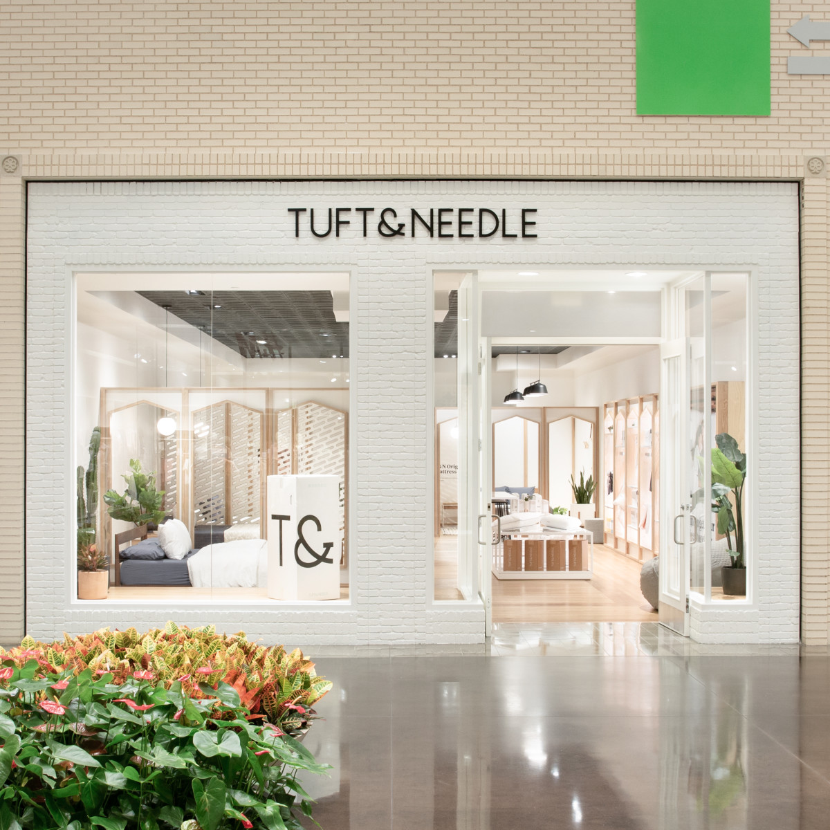 Tuft & Needle NorthPark Dallas storefront