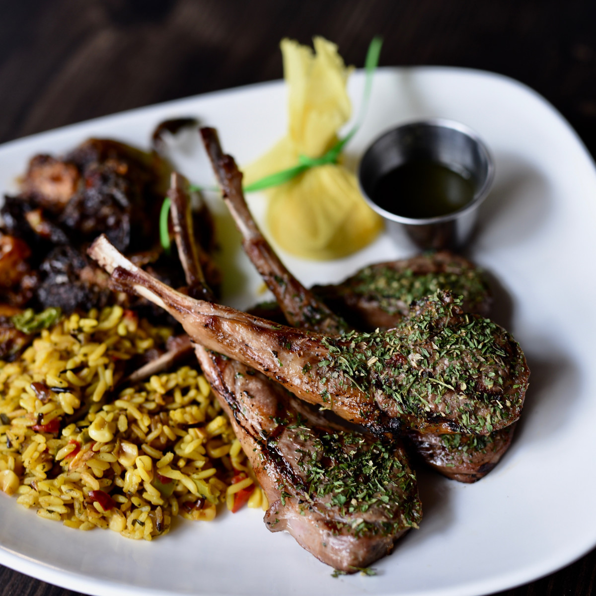 Peli Peli Woodlands lamb chops