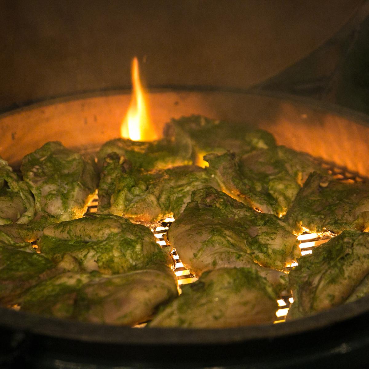 Chris Shepherd cookbook party chicken grilling