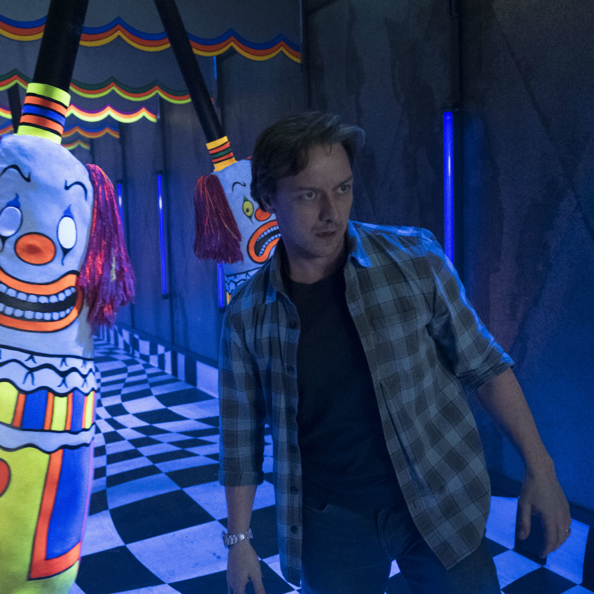 James McAvoy in IT: Chapter Two