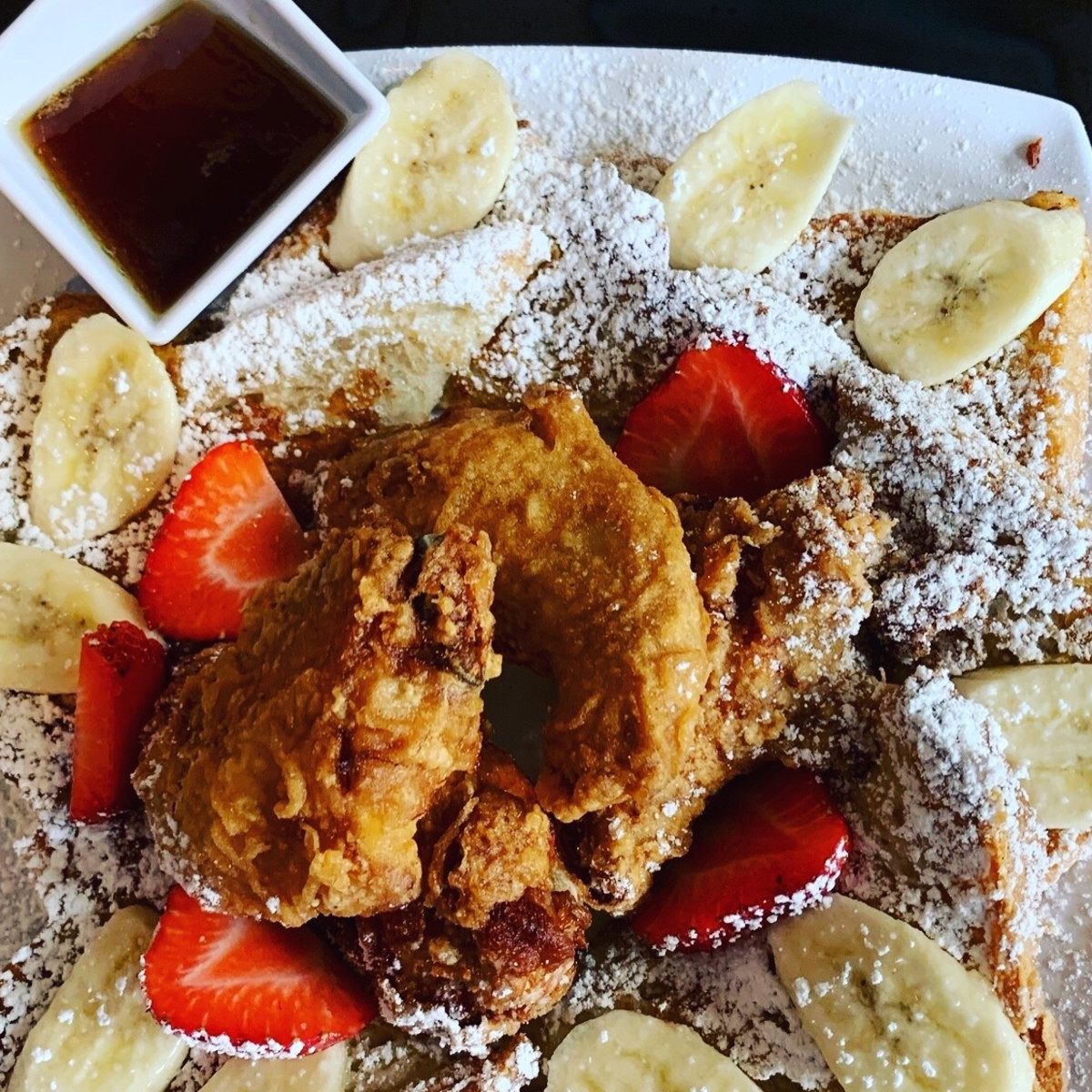 Dak & Bop Korean fried chicken and waffle