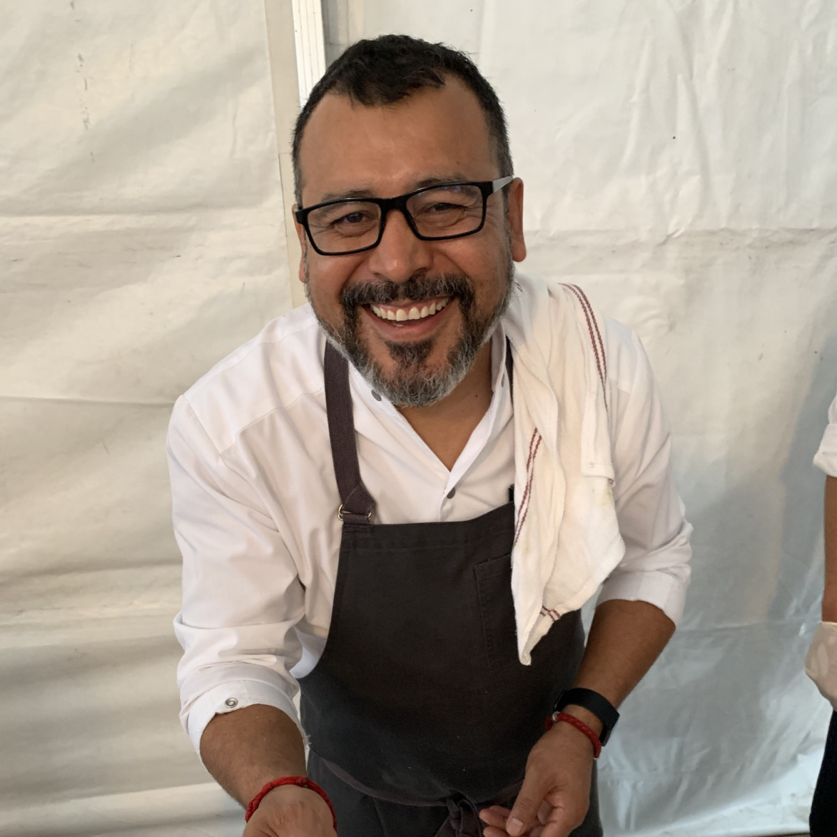 Iron Bartender Ruben Ortega pastor taco