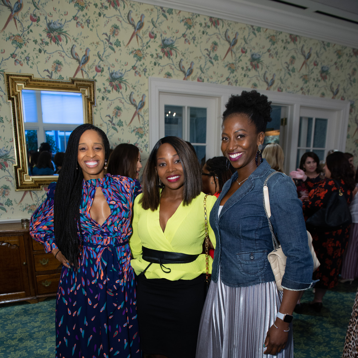 Fashion Unlocked Junior League Simone Ellis, Sarah Kwang, Angie Curtis