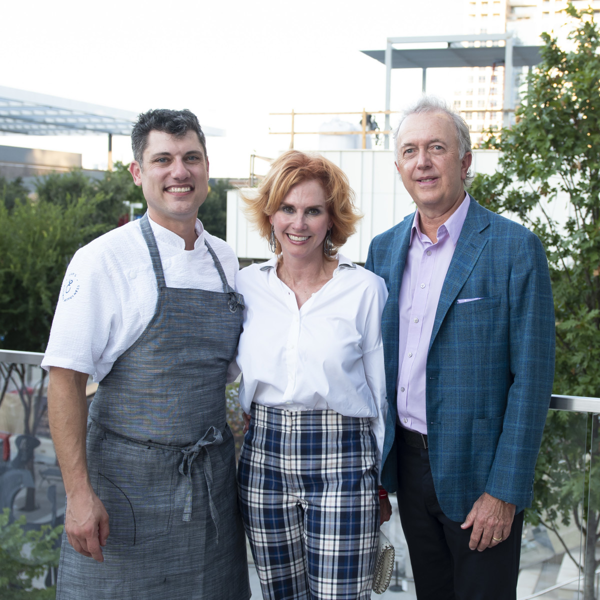 Chef Eric Dryer (HALL Arts Hotel, Jolie Humphrey and Bart Humphrey