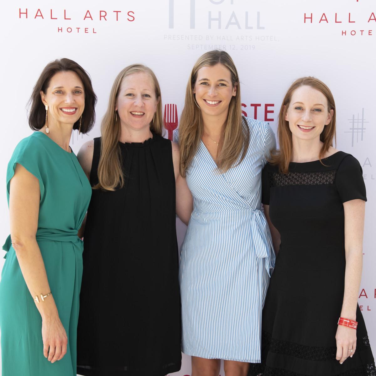 Kymberley Scalia, Sara Lovas, Abby Witkowski and Sarah Hoffman