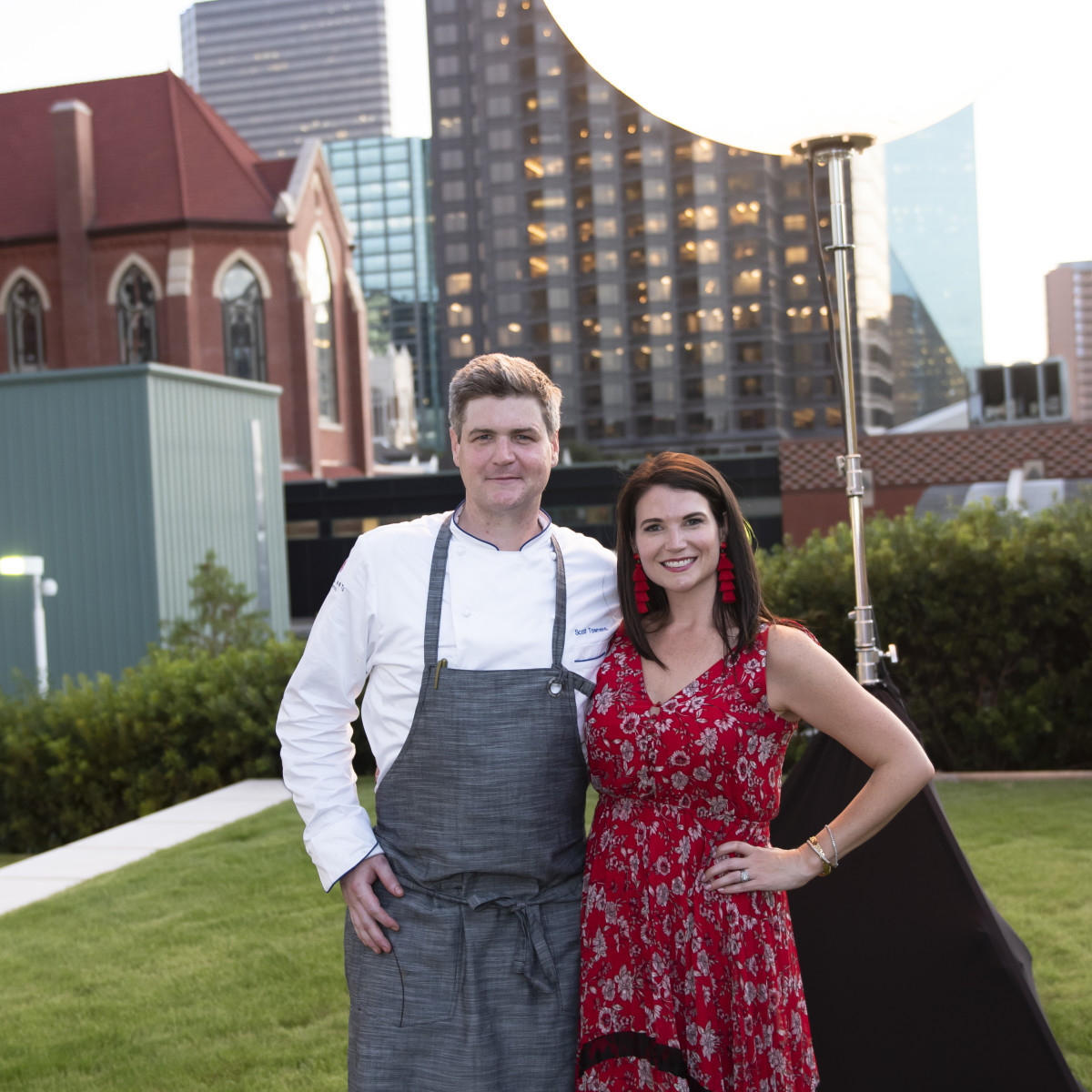 Chef Scott Townend, and Katie Doherty