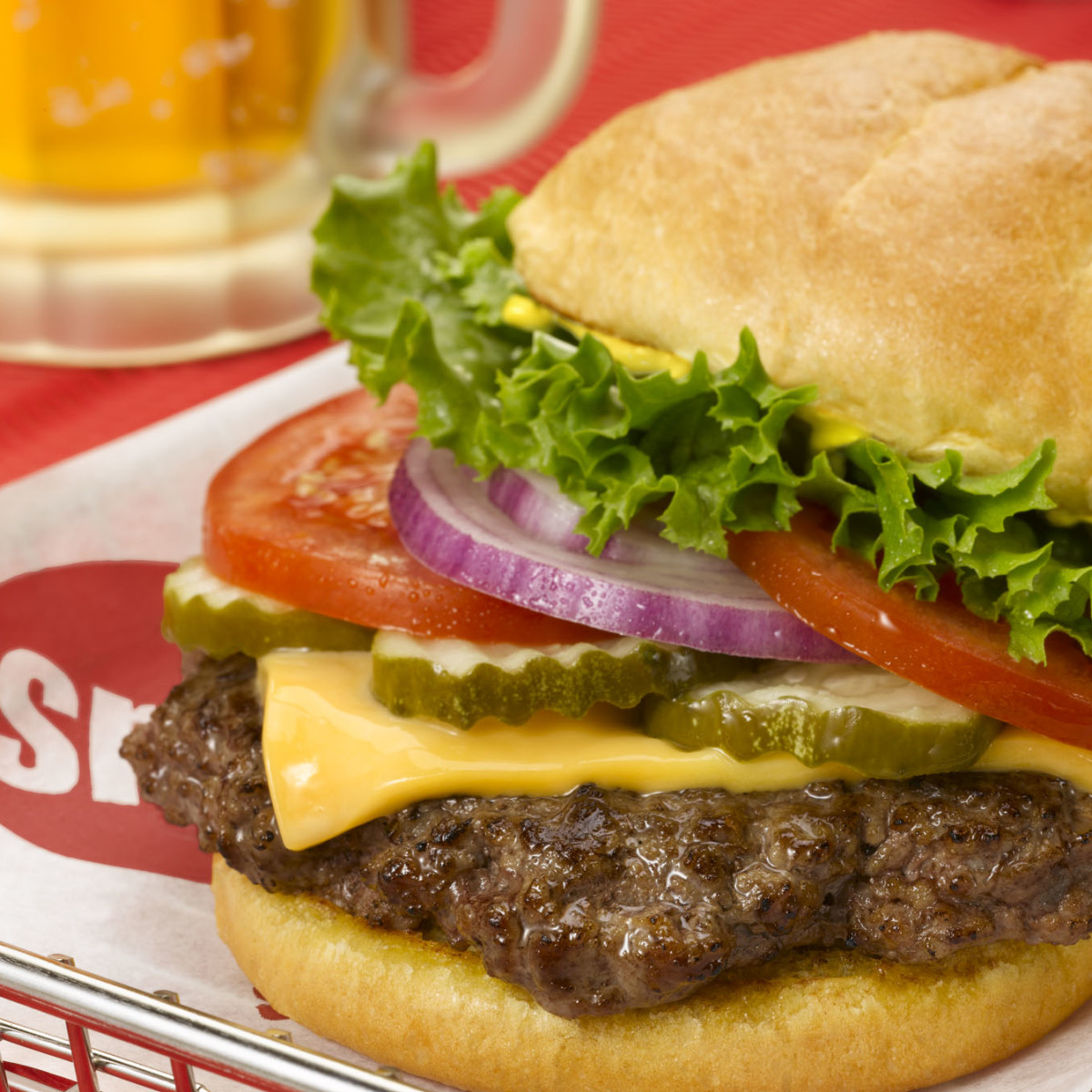 Smashburger hamburger