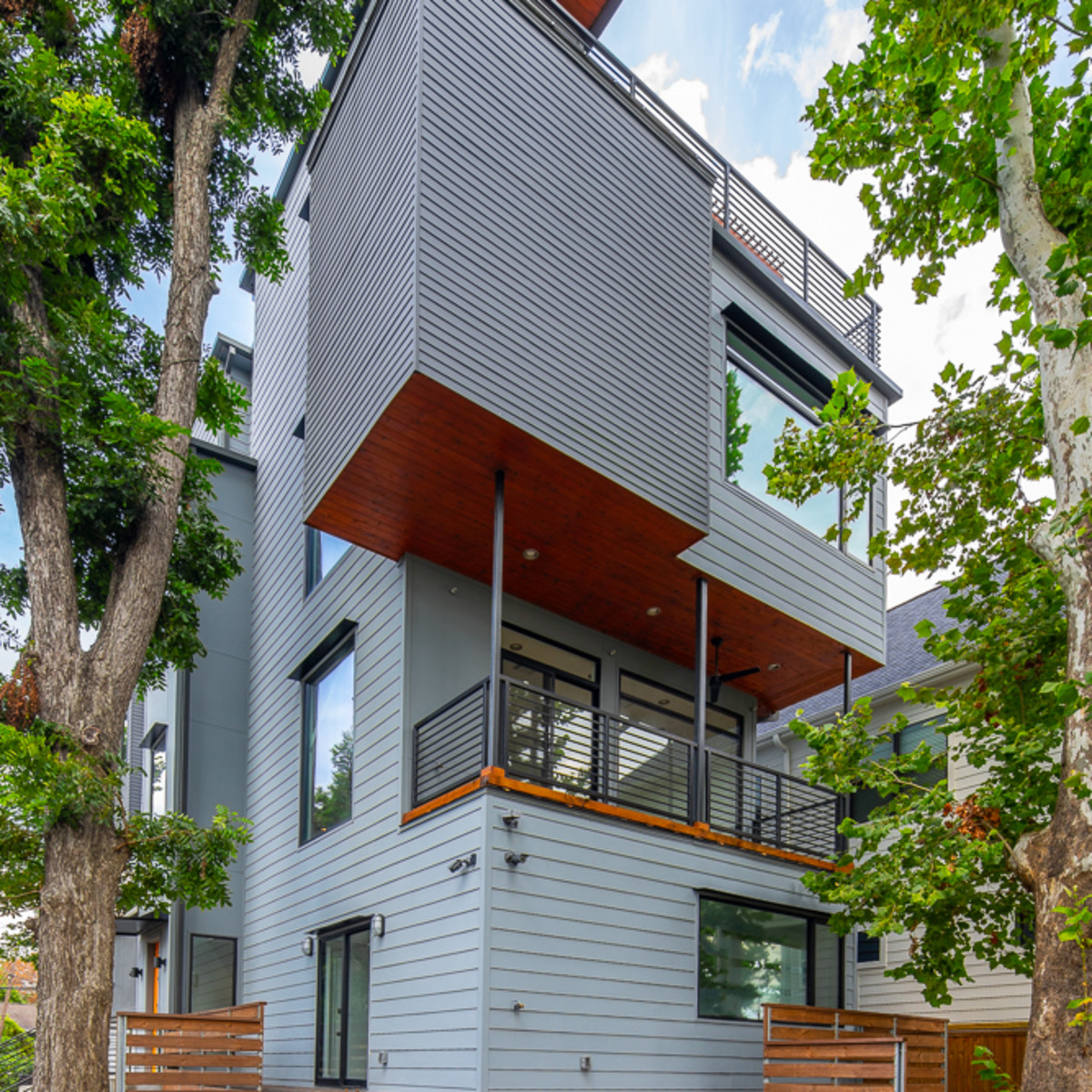 Houston Modern Home Tour 1320 West 21st Street