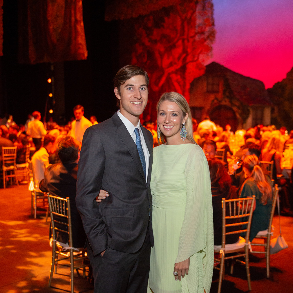 Houston Ballet Onstage Dinner Marshall Heins Christina Stith