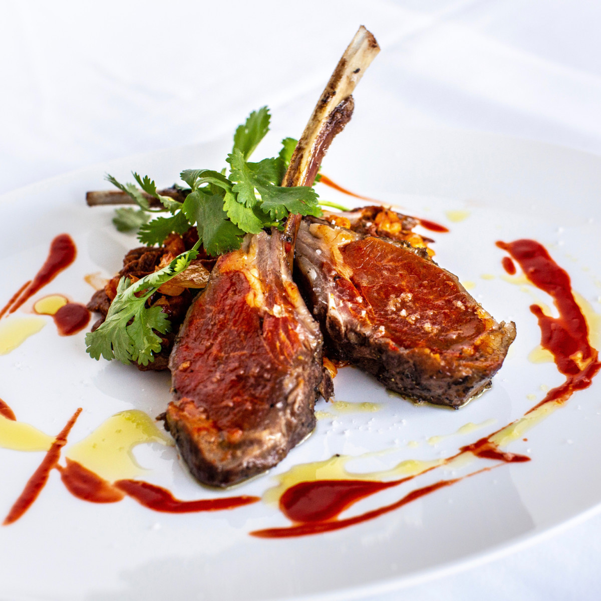 The Annie Cafe lamb chops