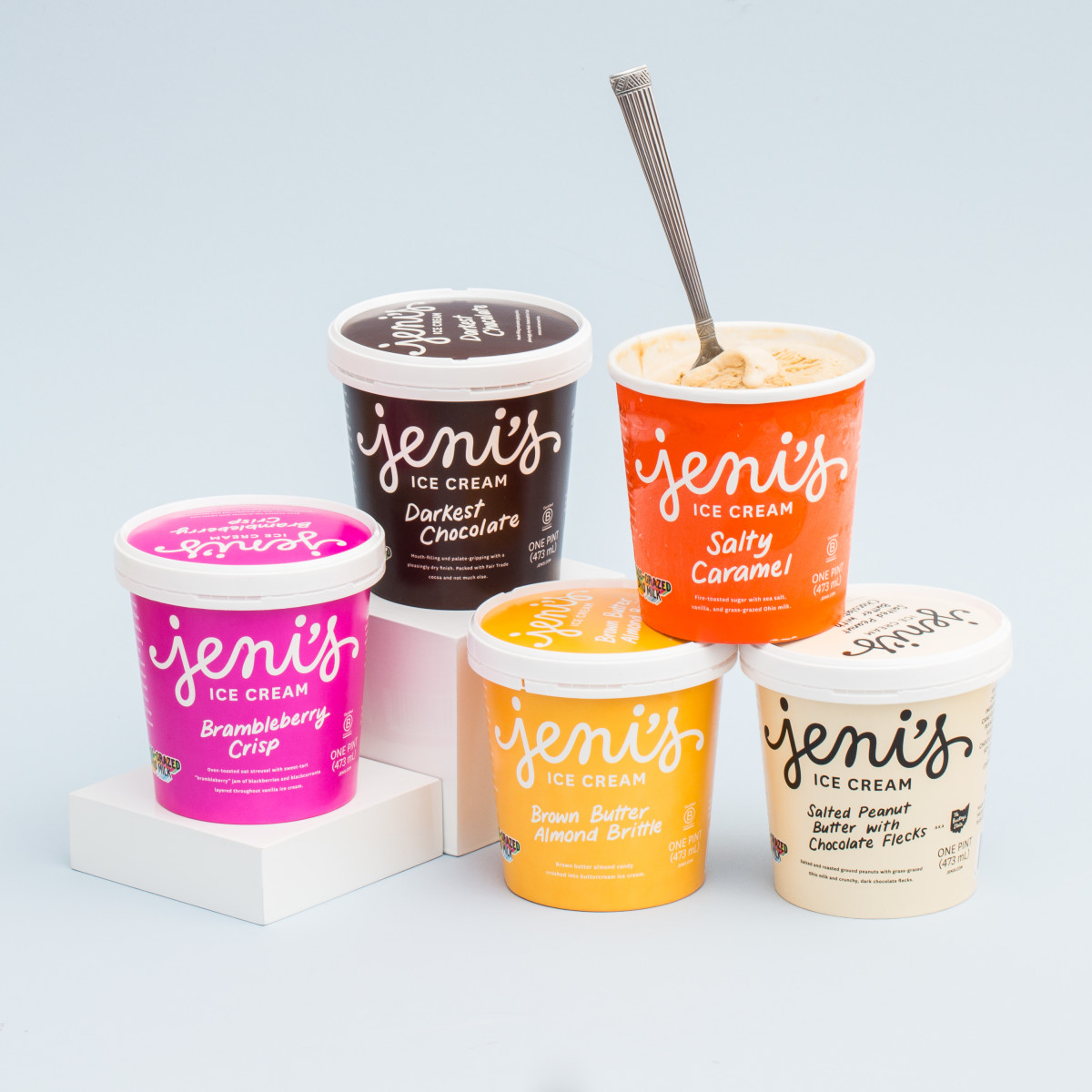 Jeni's Splendid Ice Creams top sellers