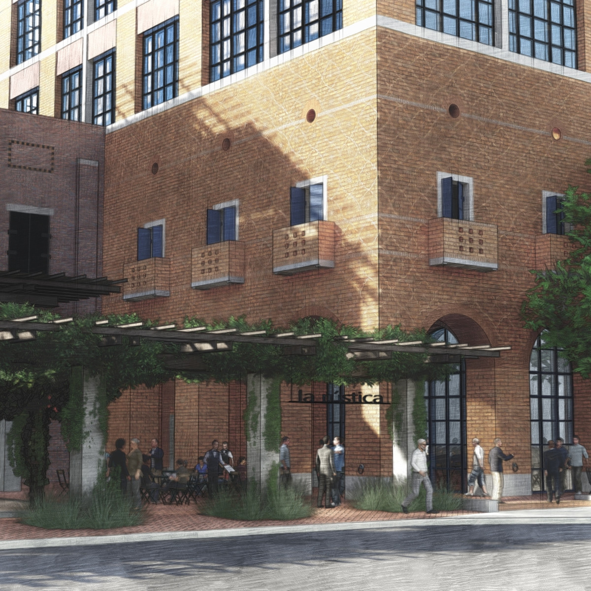 Oxbow development broadway san antonio