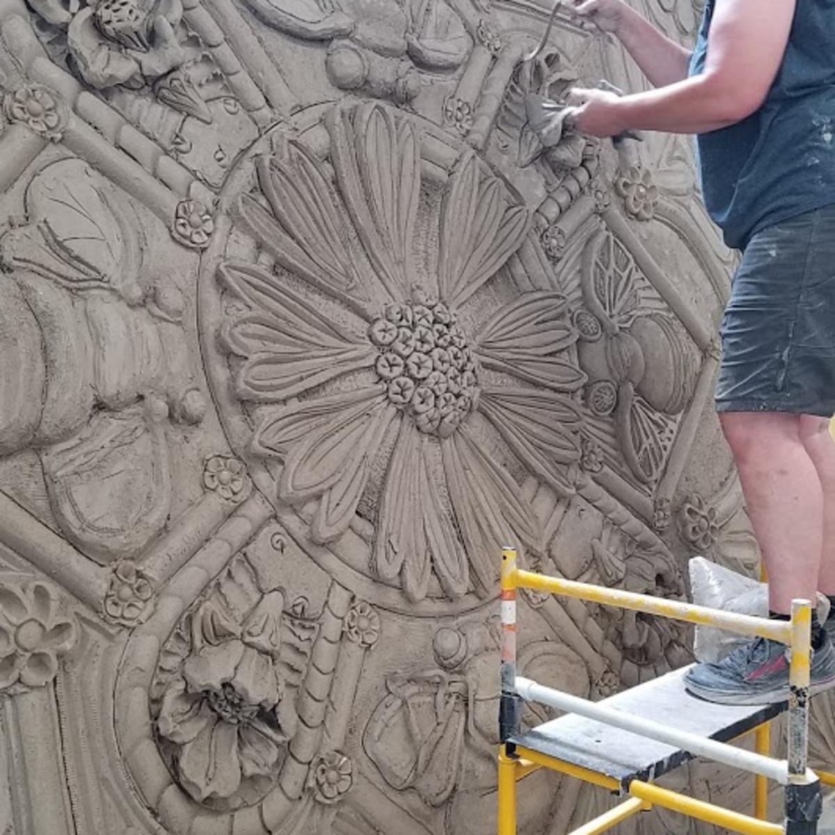 Diana Kersey Oxbow mural