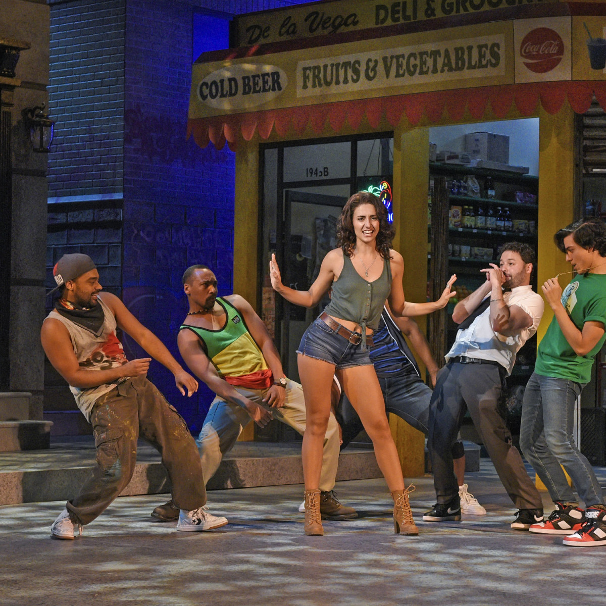 Marina Pires and cast of Dallas Theater Center's In the Heights
