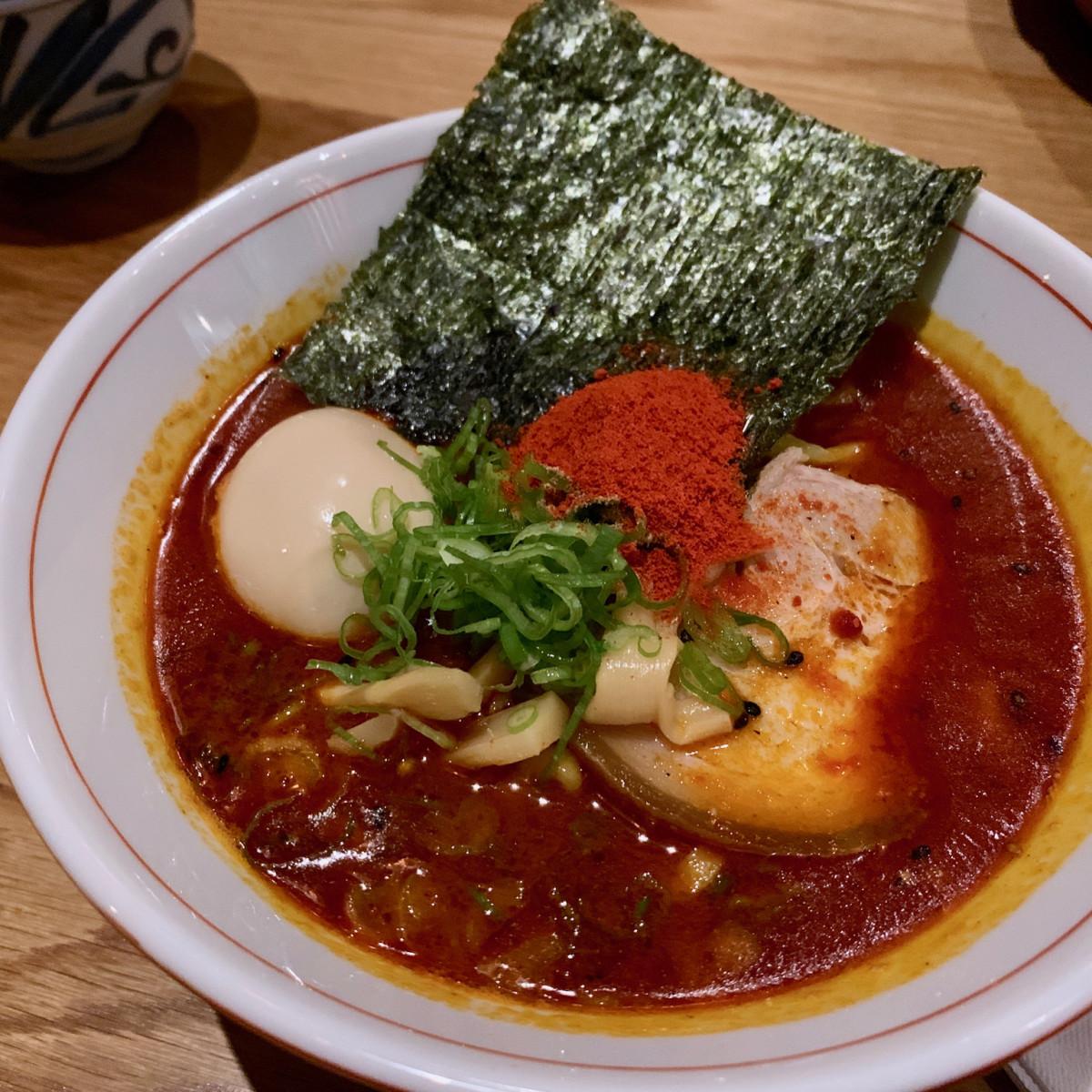 Toukei Izakaya spicy seafood ramen